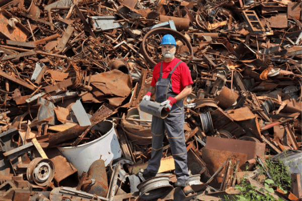 Сдача металлолома с вывозом