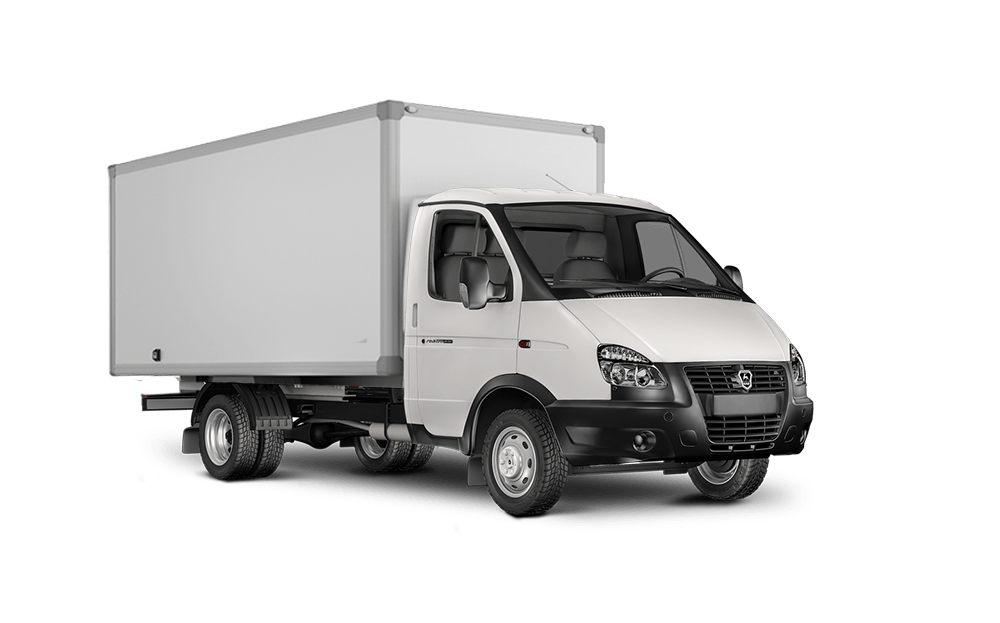 Газель фургон (3 метра / 1,5 тонны)