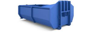 Пухто на 10 или 14 м³ — контейнер на 10 или 14 кубов для лёгких бытовых или строительных отходов