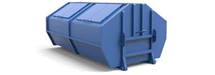 Пухто на 6 м³ — контейнер на 6 кубов для лёгких бытовых или строительных отходов