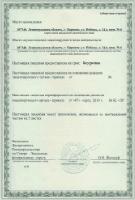 Второй лист лицензии на вывоз мусора IV класса опасности