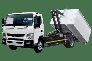 Пухтовоз — Mitsubishi Fuso мультилифт