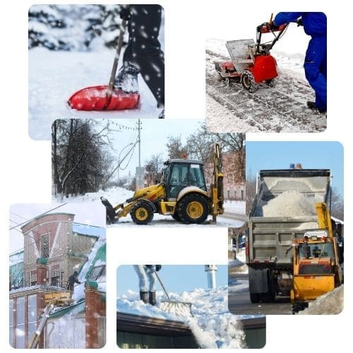 услуги по уборке снега от увозова