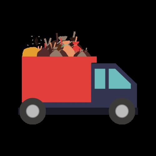 Недорогой вывоз строительного мусора в Санкт-Петербурге и ЛО